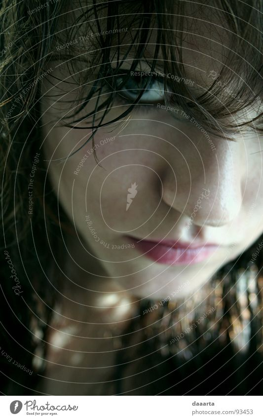 human look Porträt Frau color woman teenage face eye latvia Innenaufnahme