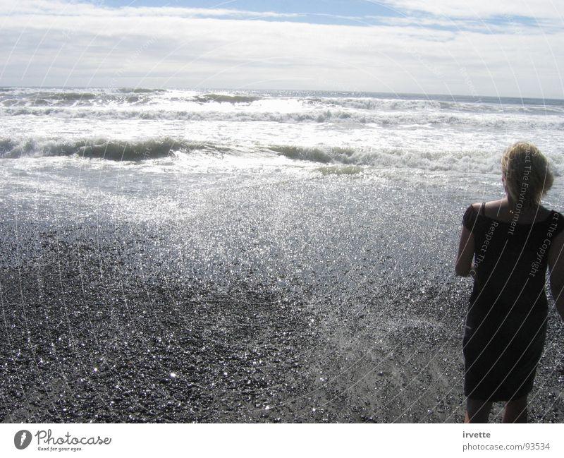Ocean soul Himmel Sommer Strand Sand Küste Wind USA Gezeiten