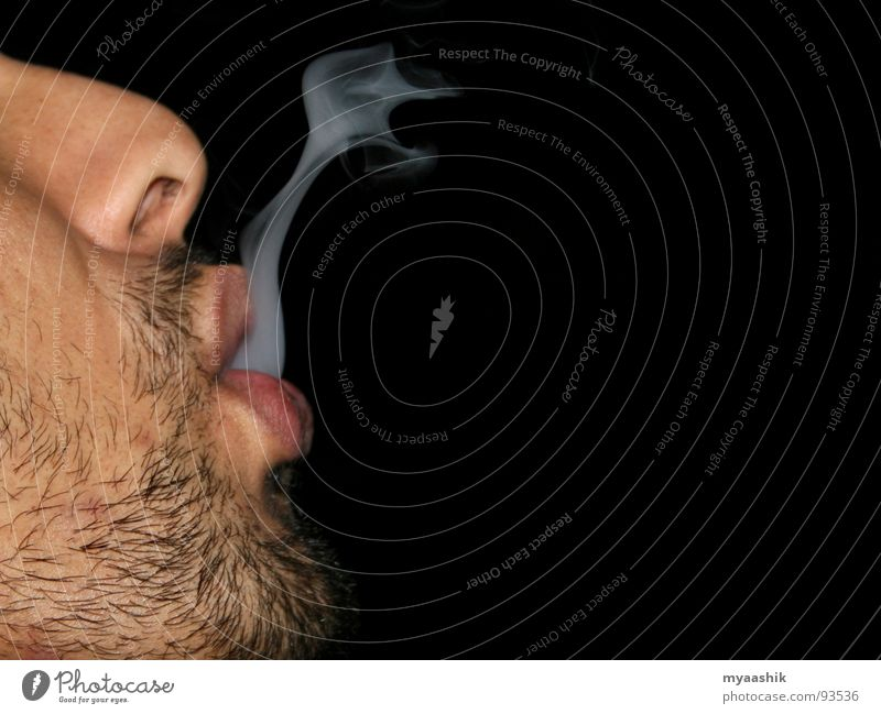 Smoke Man Gesundheit Wind