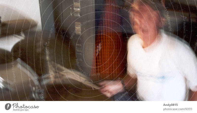 AAAAAAA!!!! Schlagzeug Geschwindigkeit Sänger Club Party Musik Schnur Musiker
