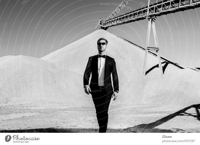 Mr. Fahry - END Lifestyle elegant Stil maskulin Junger Mann Jugendliche 18-30 Jahre Erwachsene Industriefotografie industriell Mode gehen Coolness trendy schön