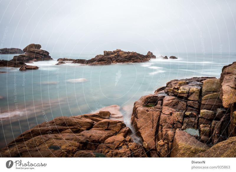 schroff Himmel Natur weiß Wasser Meer Landschaft schwarz Umwelt Küste braun Luft Wetter Nebel Urelemente türkis Frankreich