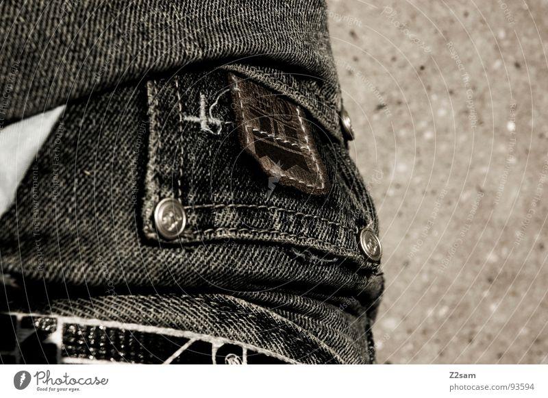 ......tasche Stil klein Bekleidung modern Coolness Jeanshose Bodenbelag einfach Hose Leder Tasche lässig Knöpfe Teer Gürtel
