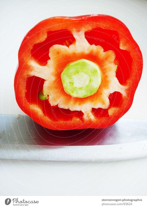 papri k. Paprika rot kochen & garen Ernährung Speisekarte Rätsel Küche Gemüse Makroaufnahme nahaufname