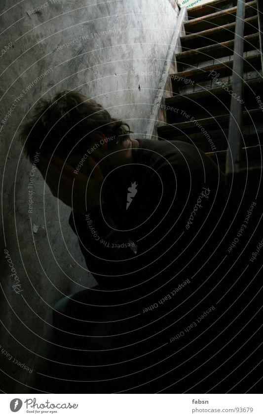 ABWÄRTS Trauer verstört Außenseiter abwärts Keller demütig ruhig Helium grün fertig Arbeit & Erwerbstätigkeit Müdigkeit Nervenzusammenbruch Luft atmen Ende