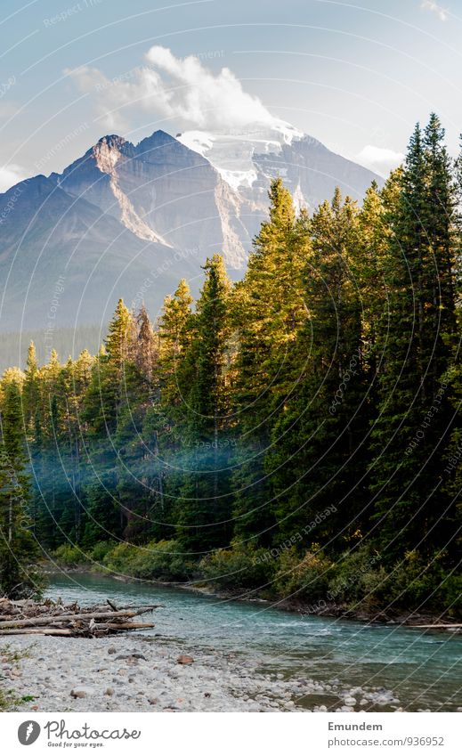 Jasper Himmel Natur Ferien & Urlaub & Reisen Wasser Sommer Baum Erholung Landschaft Wolken Wald Umwelt Herbst Schönes Wetter Abenteuer Fluss Flussufer