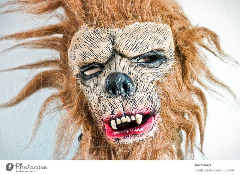 Je suis Charlie Lifestyle Krankheit Feste & Feiern Karneval Halloween Mensch androgyn Leben Kopf 1 Haare & Frisuren Behaarung Tier Wandel & Veränderung untot