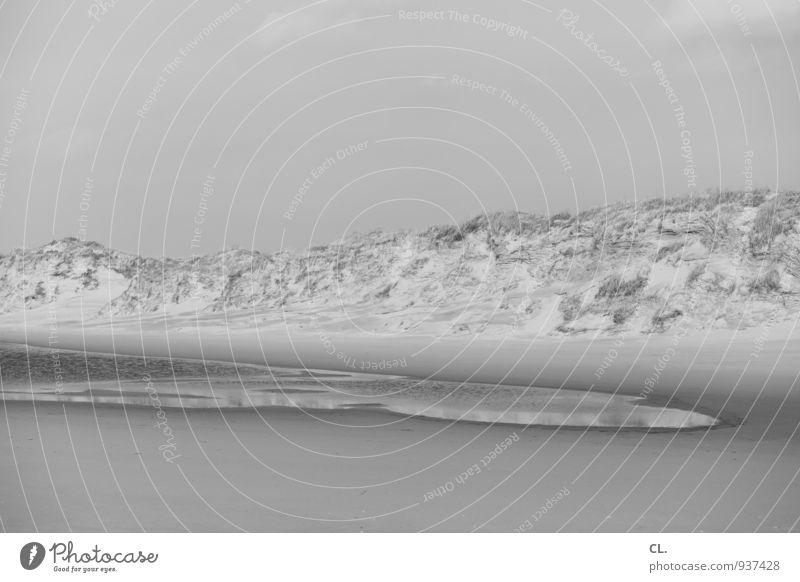 düne Himmel Natur Ferien & Urlaub & Reisen Wasser Meer Landschaft ruhig Strand Umwelt Sand Tourismus wandern Klima Insel Hügel Stranddüne