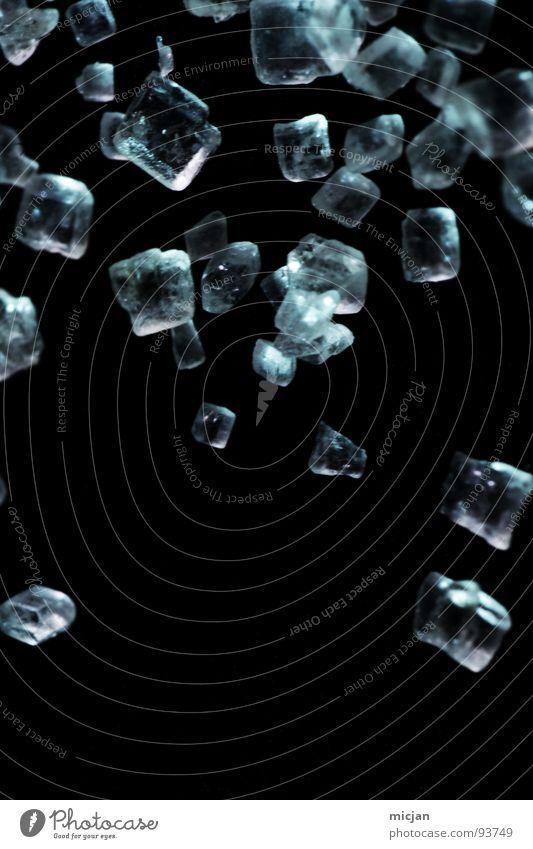 Sweet Rain blau schön schwarz klein Regen Eis glänzend fliegen mehrere süß kaputt Ecke Klarheit fallen viele nah