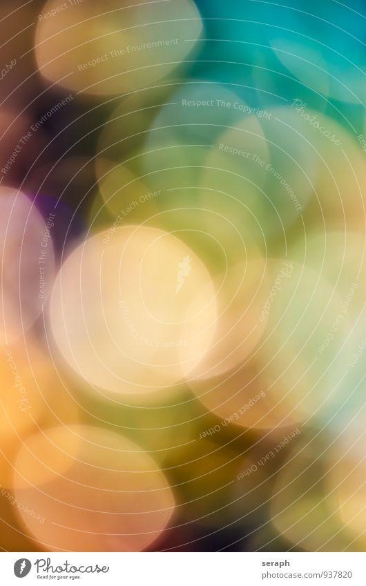 Lichter Farbe Beleuchtung Hintergrundbild hell glänzend leuchten Kreis Kugel Bühnenbeleuchtung Oberfläche gepunktet Illumination Entertainment Lichtpunkt glühen