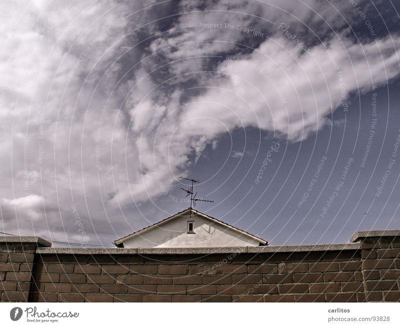 Eingesperrt gefangen Isolierung (Material) Einsamkeit Arbeit & Erwerbstätigkeit Architektur auf der Mauer auf der Lauer keine Aussicht