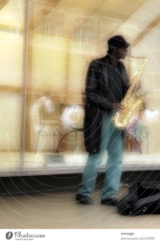 Street artist_2 London Musiker