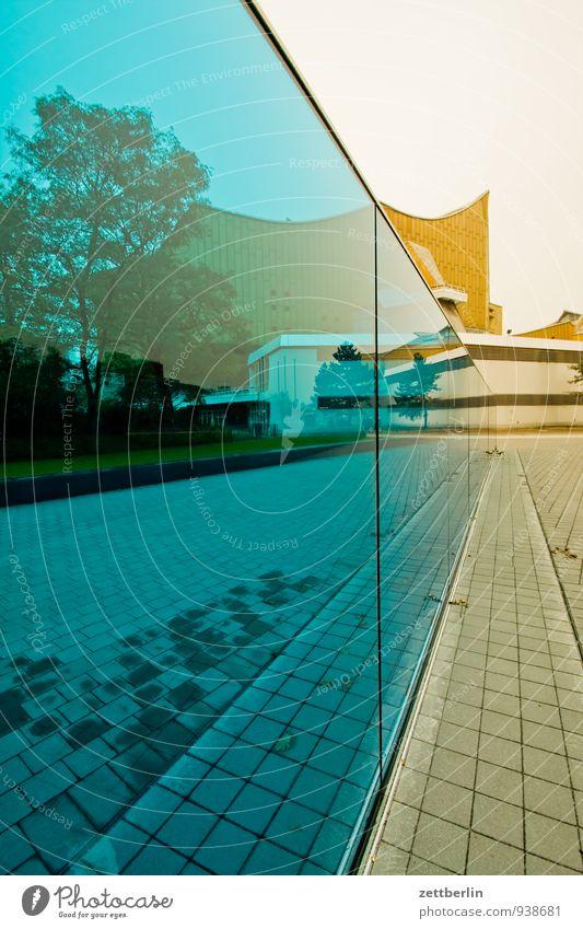 Gedenk- und Informationsort Berlin Denkmal Sterbehilfe Nationalsozialismus Deutschland Wand Glas durchsichtig Fensterscheibe Scheibe Glasscheibe Klarheit
