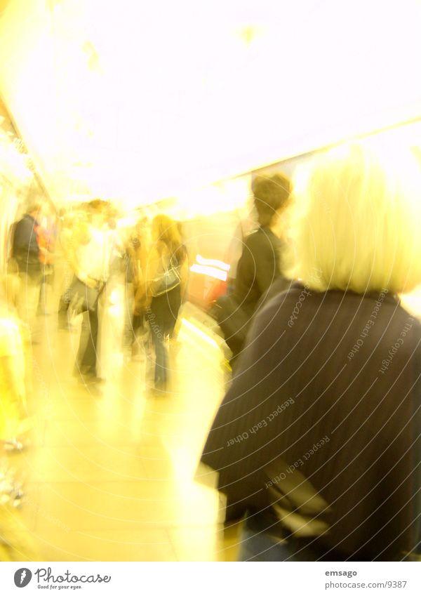 Londons Tube Mensch U-Bahn
