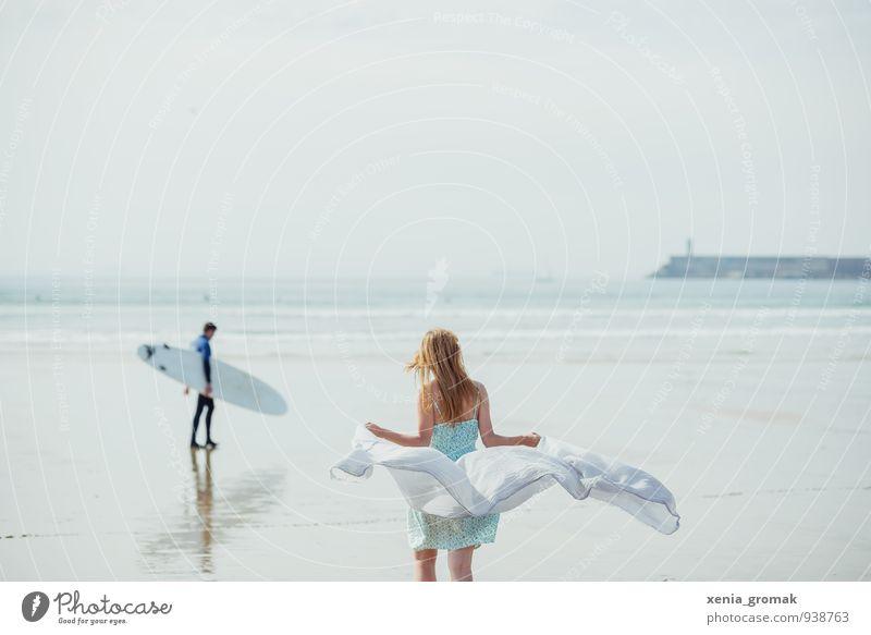 am Ozean Lifestyle harmonisch Schwimmen & Baden Ferien & Urlaub & Reisen Tourismus Ausflug Abenteuer Ferne Freiheit Kreuzfahrt Sommerurlaub Sonne Strand Meer