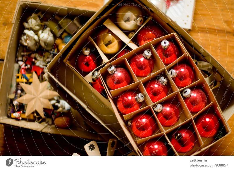 Weihn8szeug Weihnachten & Advent Dekoration & Verzierung Anti-Weihnachten Weihnachtsdekoration Winter Kugel Christbaumkugel Karton Verpackung Glas mundgeblasen