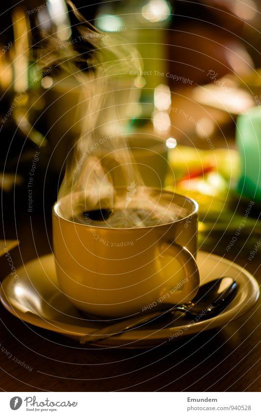 Kaffeduft Getränk trinken Heißgetränk Kaffee Geschirr Tasse Warmherzigkeit harmonisch Kaffeetasse Kaffeeduft Duft gemütlich Geborgenheit Farbfoto Innenaufnahme