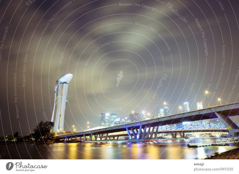 Singapur Ferien & Urlaub & Reisen Stadt Reisefotografie Architektur Tourismus Brücke Bankgebäude Hauptstadt exotisch Sehenswürdigkeit gigantisch Singapore