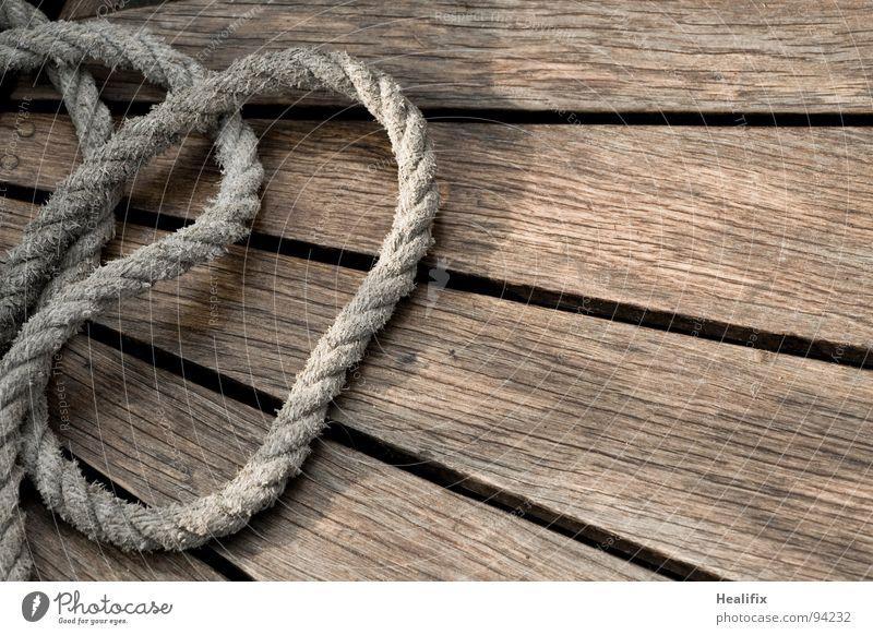 ROPE ME Wasser Meer Holz Bewegung See Wasserfahrzeug braun Arbeit & Erwerbstätigkeit Freizeit & Hobby Wassertropfen Seil Streifen Schifffahrt Segeln Knoten
