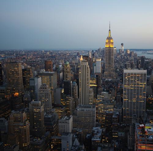 New York, New Tower Haus Architektur Lifestyle Arbeit & Erwerbstätigkeit Horizont Wohnung träumen Tourismus Büro Energiewirtschaft Wachstum Glas Hochhaus Erfolg