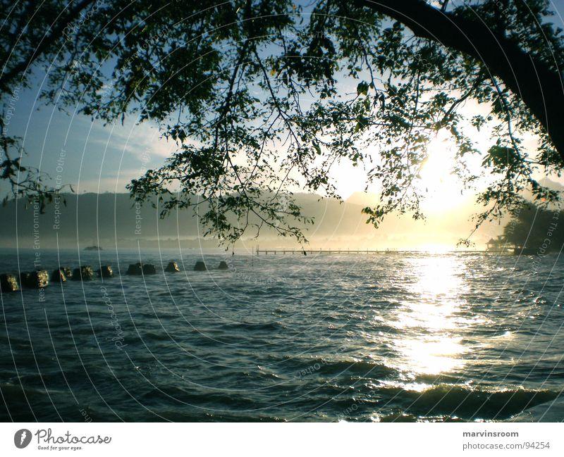 morning glory Sonne Meer Strand See Küste Asien
