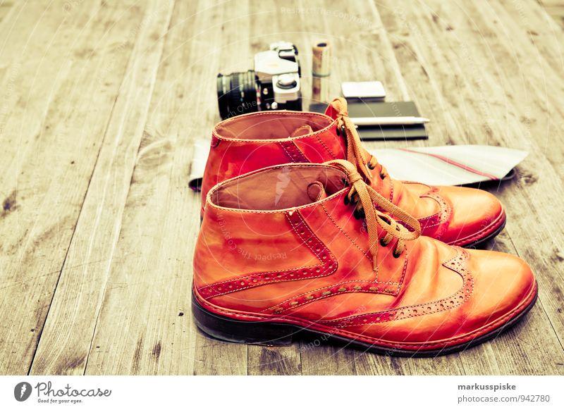 neourban hipster fashion travel Stadt schön Stil Feste & Feiern Mode Lifestyle elegant Design Coolness kaufen Fotokamera trendy Reichtum analog Stiefel Krawatte