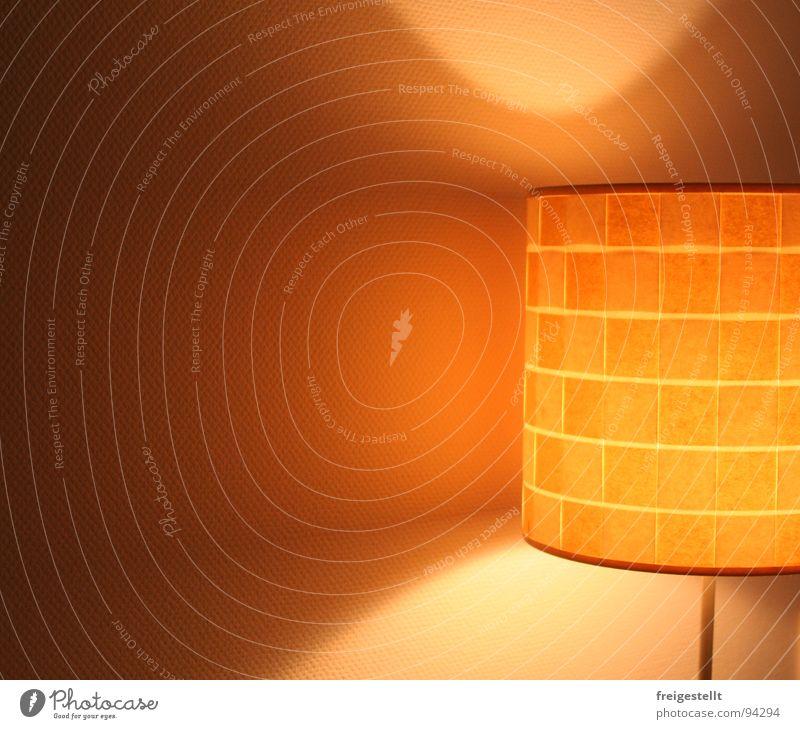 So'ne Blenderin. . . schön Lampe Wärme hell orange Dekoration & Verzierung Physik Wohnzimmer gemütlich harmonisch Ambiente Lampenschirm Stehlampe Lichtkegel