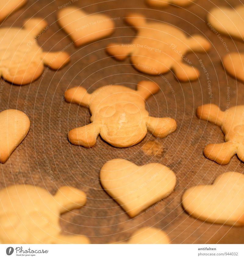 between love and hate Weihnachten & Advent Freude Winter Liebe Essen Lebensmittel braun Freizeit & Hobby Ernährung Herz Kochen & Garen & Backen einzigartig