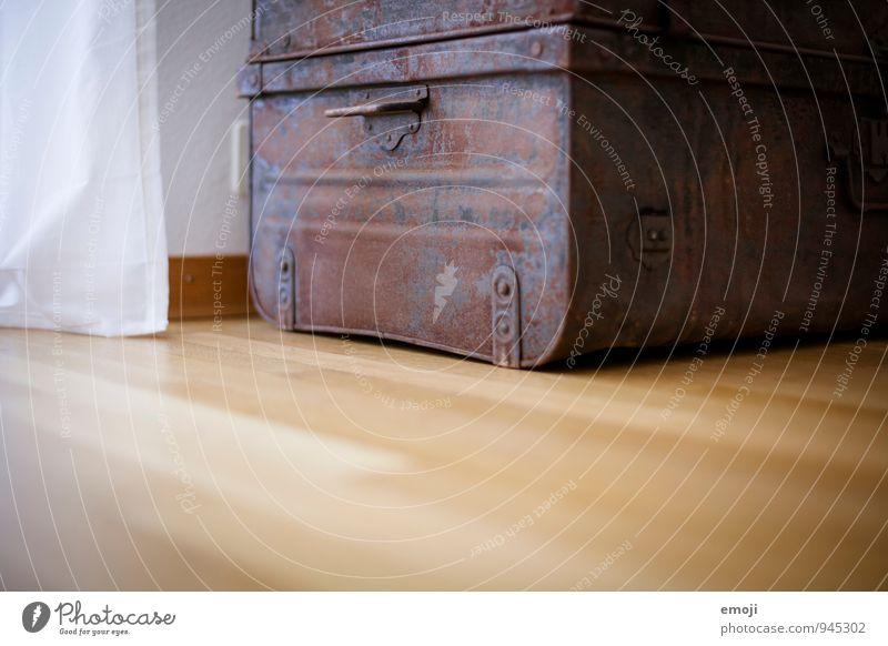 Schatztruhe alt dunkel Metall Dekoration & Verzierung Boden Rost Kiste Truhe Sammlerstück
