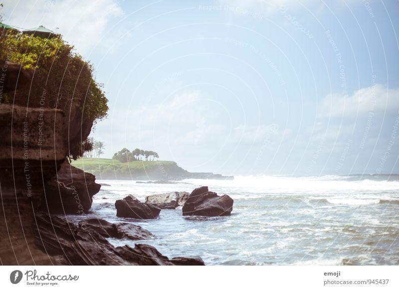 Bali Natur Ferien & Urlaub & Reisen blau Sommer Meer Landschaft Umwelt Reisefotografie Küste natürlich Tourismus Insel Schönes Wetter Bali