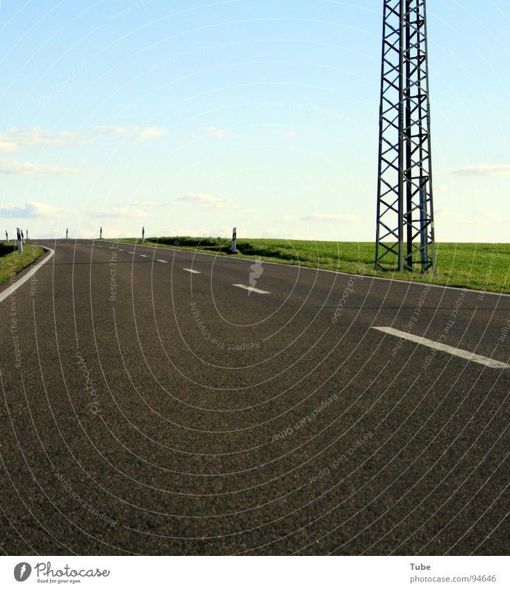 Zum Horizont - Nach Links II Wolken Wiese grün weiß Heimat Sachsen Außenaufnahme Gras Landwirtschaft Feld Ozonloch Ozonschicht Sauerstoff Hintergrundbild