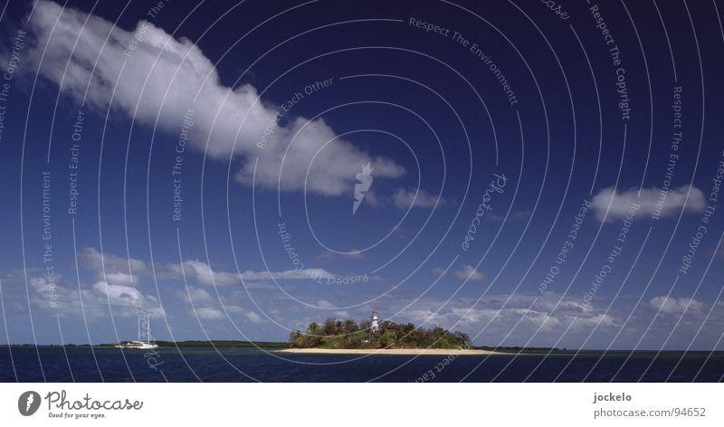 Whitsunday Australien Whitsunday Islands Meer Strand tauchen Schnorcheln Wolken Wasserfahrzeug Segeln Ferien & Urlaub & Reisen Erholung Korallen Pol- Filter