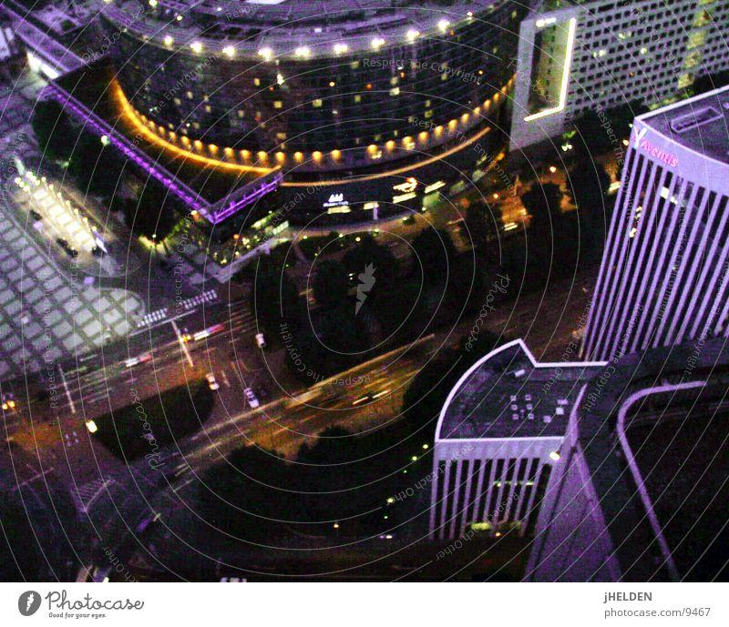 Frankfurt Expo Himmel Stadt Architektur Stil Glas Beton hoch modern Hochhaus Bank historisch Stahl Etage Haus Messe Frankfurt am Main