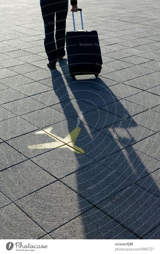 Sommerflieger III Ferien & Urlaub & Reisen Ferne Reisefotografie Freiheit Kunst Business ästhetisch Flugzeug Fernweh Stress Geschäftsleute reisend Urlaubsfoto