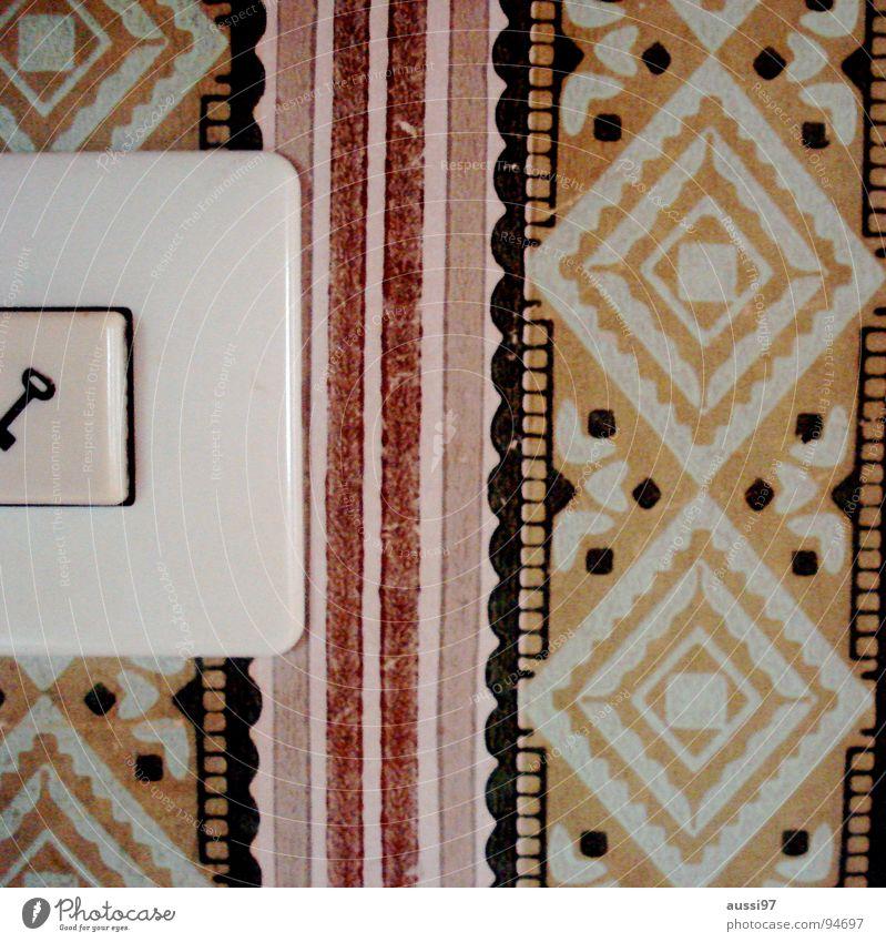 Türöffner instyle Schalter Tapete Art deco Symbole & Metaphern Schlüssel Elektrisches Gerät Griff Knöpfe drücken Schilder & Markierungen Häusliches Leben