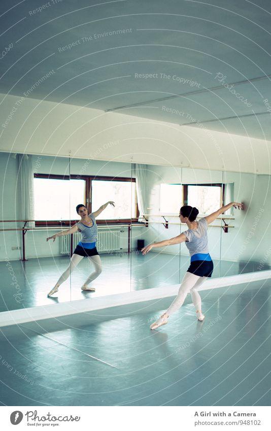 Eleganza Doppelpack Fitness Sport-Training Balletttänzer Mensch feminin Junge Frau Jugendliche Körper 1 30-45 Jahre Erwachsene Tanzen ästhetisch elegant schön
