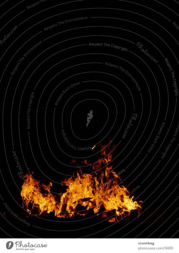 Feuerlager Nacht Fototechnik Brand