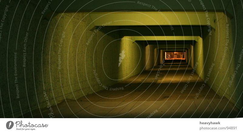 Lichtspiele am Schießstand Tunnel Zielscheibe Waffe