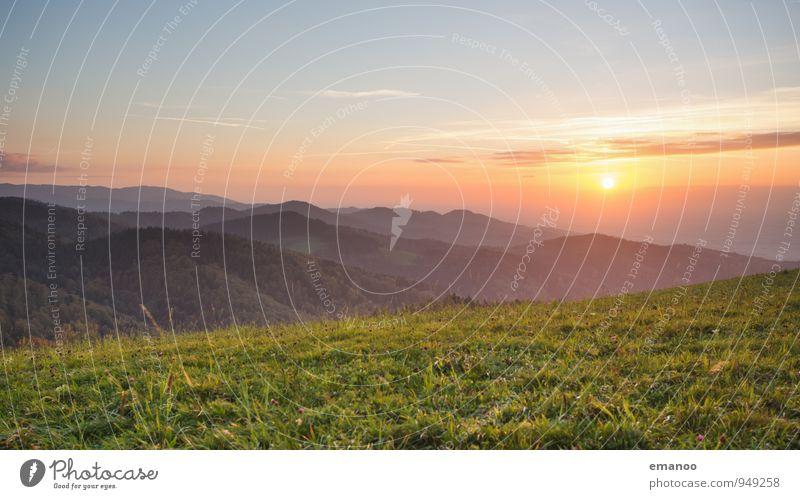 Schwarzwald Himmel Natur Ferien & Urlaub & Reisen Pflanze schön Sommer Sonne Landschaft Wolken Ferne Wald Umwelt Berge u. Gebirge Wiese Gras Freiheit