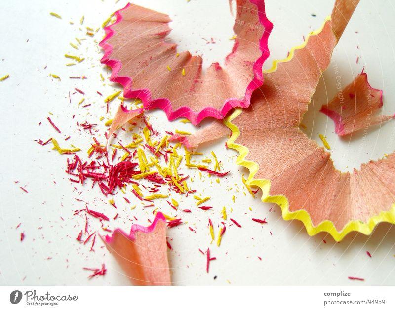 Spitz! Spitze mehrfarbig rosa gelb Müll gespitzt Farbstift Kindergarten Kinderzimmer Schreibstift Gemälde Neonlicht Holz Freizeit & Hobby buntsift streichen