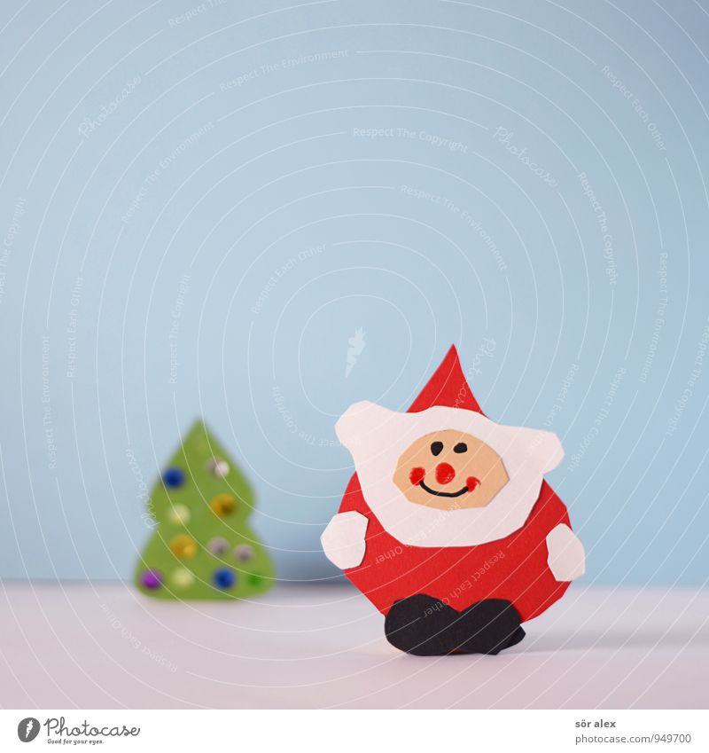 24. Weihnachten & Advent Freude Glück Feste & Feiern Zufriedenheit Freizeit & Hobby Kindheit Weihnachtsbaum Handel Vorfreude Weihnachtsmann Kindergarten Basteln