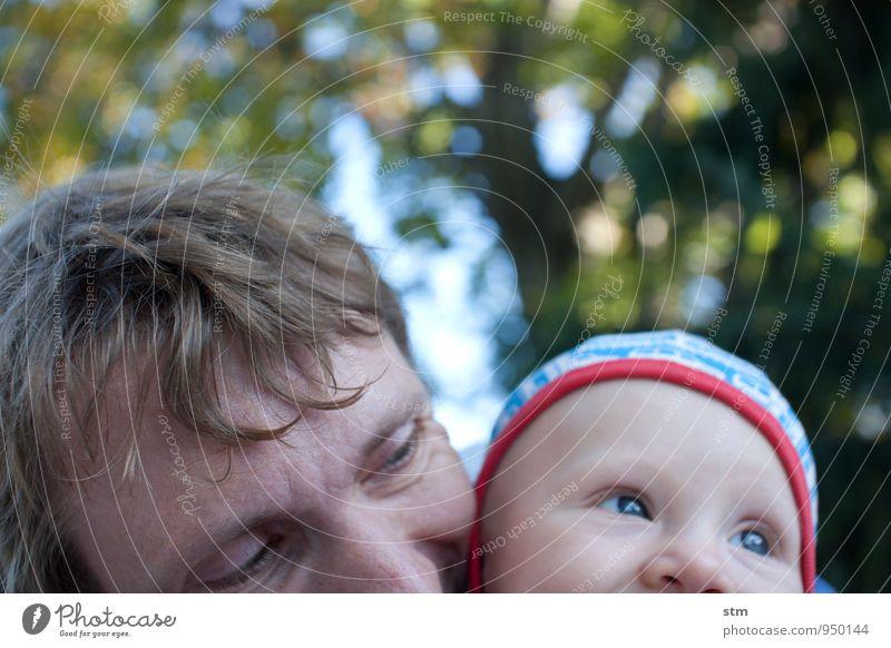 vater und kind Freizeit & Hobby Spielen Mensch Kind Baby Mann Erwachsene Eltern Vater Familie & Verwandtschaft Kindheit Leben Kopf 2 0-12 Monate 30-45 Jahre