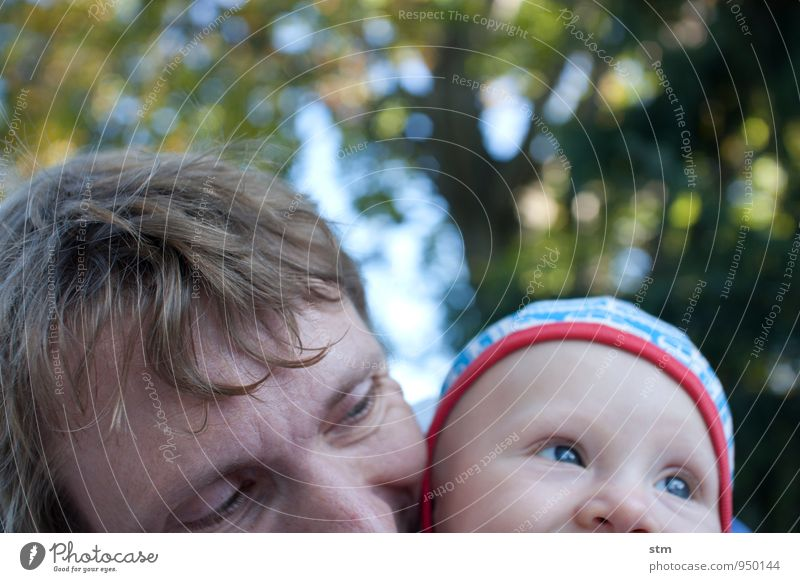 vater und kind Mensch Kind Natur Mann Erwachsene Leben Gefühle Liebe Spielen Glück Stimmung Kopf Familie & Verwandtschaft Freizeit & Hobby Zufriedenheit Kindheit