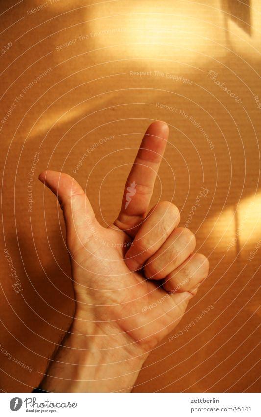 Zwei 2 Finger Zeigefinger Mittelfinger Ringfinger Daumen Faust Konzentration zählen gestikulieren Kommunizieren Mensch kleiner finger Pflaume numerieren