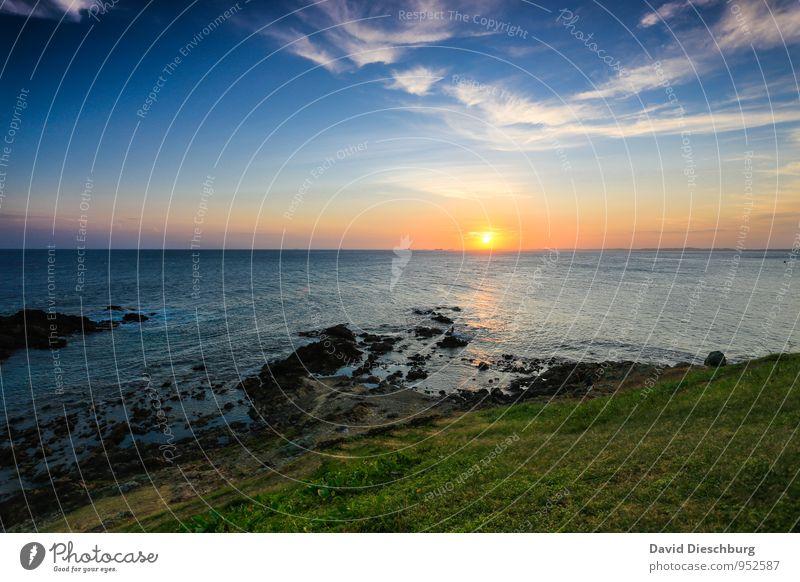 Salvador de Bahia Ferien & Urlaub & Reisen Ferne Sommerurlaub Sonnenbad Natur Landschaft Wasser Himmel Wolken Horizont Schönes Wetter Gras Wellen Küste Bucht