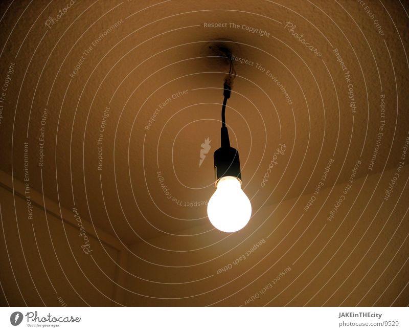 Glüh ins Neue Glühbirne Licht Wand glühen Renovieren Häusliches Leben Halterung Übergang