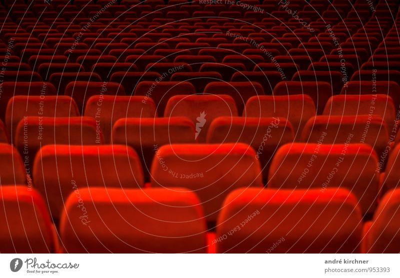 konform rot außergewöhnlich Freizeit & Hobby Macht Show Veranstaltung Filmindustrie Reihe Menschenmenge Kino Symmetrie Sitzreihe Saal Sessel Video Einigkeit