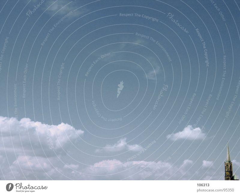 MINIMAL_CORNER: SPITZE(N) SACHE Himmel Stadt Himmel (Jenseits) Wolken Ferne Gebäude klein Stein Hintergrundbild gefährlich Dach Ecke Spitze Aussicht historisch