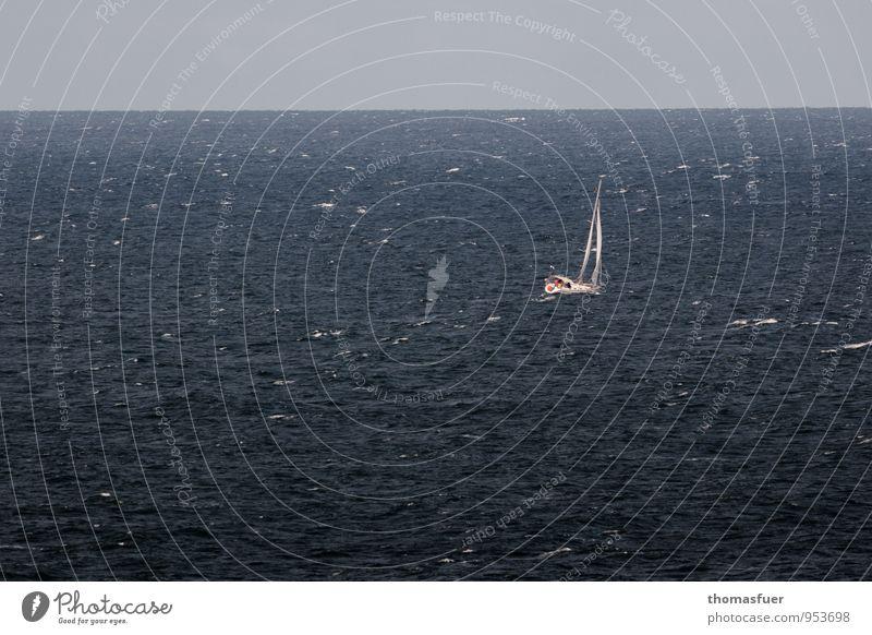 West 6 Segeln Abenteuer Ferne Freiheit Meer Wellen Wassersport Segeltörn Luft Erde Himmel Horizont Sommer Herbst Schönes Wetter Wind Sturm Kreuzfahrt Bootsfahrt