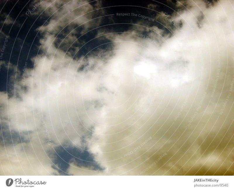 some_wolken Natur Himmel weiß blau Wolken gelb Stimmung Sturm schlechtes Wetter